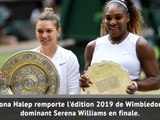Wimbledon - Halep corrige Serena Williams en finale