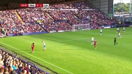 Le match de Yasser Laroussi avec les pros de Liverpool