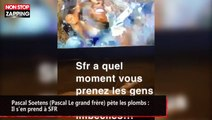 Pascal Soetens (Pascal Le grand frère) pète les plombs : Il s'en prend à SFR (vidéo)
