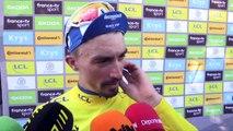 """Tour de France : """"C'est juste incroyable"""" savoure Alaphilippe, à nouveau maillot jaune"""