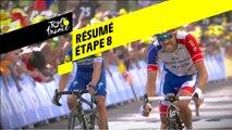 Résumé - Étape 8 - Tour de France 2019