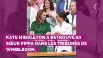 PHOTOS. La rencontre de Kate Middleton avec les joueuses de Wi...