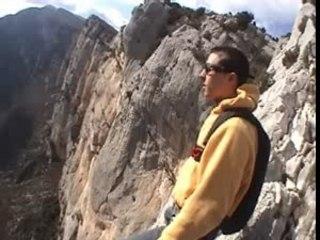 Verdon saut en parachute - Vidéo Dailymotion