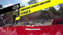 Onboard camera Emotions - Étape 8 / Stage 8 - Tour de France 2019