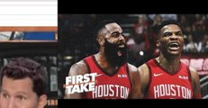Are James Harden & Russell Westbrook a top duo in the NBA _ First Take