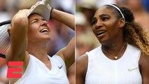 Simona Halep dominates Serena Williams to win Wimbledon title _ 2019 Wimbledon Highlights