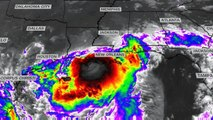Barry strengthens into Category 1 hurricane