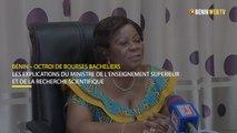 Bénin : les explications du ministre Attanasso sur l'octroi des bourses aux bacheliers et étudiants