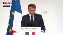 Le Président Emmanuel Macron a annoncé la création d'un commandement militaire de l'espace