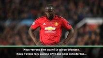 Man Utd - Solskjaer fait le point sur l'avenir de Lukaku