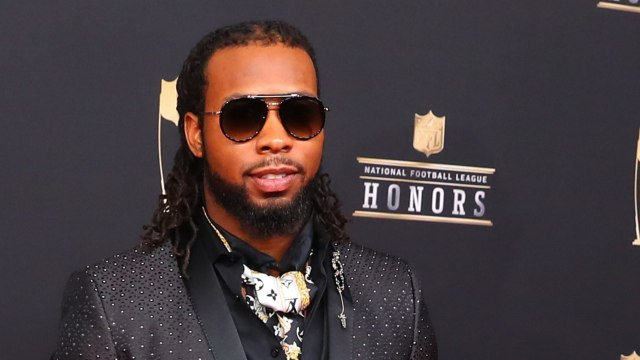 NFL Player Josh Norman Jumps Over Bull In Pamplona, Spain