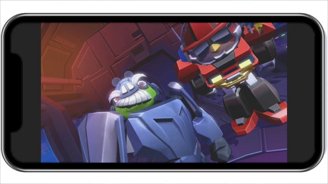 Angry Birds: Transformers- Rumble at the Beach