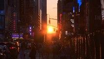 Il tramonto di luglio a Manhattan
