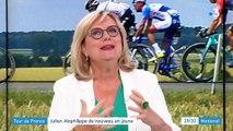 Tour de France : le Français Julian Alaphilippe revoit la vie en jaune