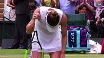 Feature: Simona Halep beats Serena Williams to win first Wimbledon