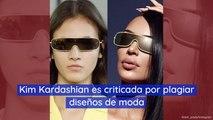 Kim Kardashian es criticada por plagiar diseños de moda