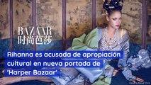 Rihanna es acusada de apropiación cultural en nueva portada de 'Harper Bazaar'