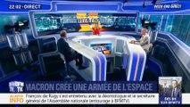 Emmanuel Macron annonce la création d'un commandement militaire de l'espace (1/2)