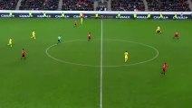 30/01/18 : SRFC-PSG : le geste anti fair-play de Neymar sur Traoré