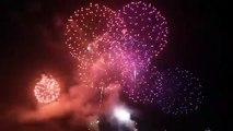Nice a renoué avec la tradition du feu d'artifice trois ans après l'attentat qui a ensanglanté la Promenade des Anglais en 2016