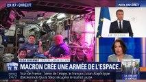 Emmanuel Macron annonce la création d'un commandement militaire de l'espace (2/2)