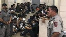 Democrats tour Texas detention facility finding horrific conditions
