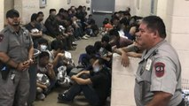 Democrats tour Texas detention facility finding horrific conditions