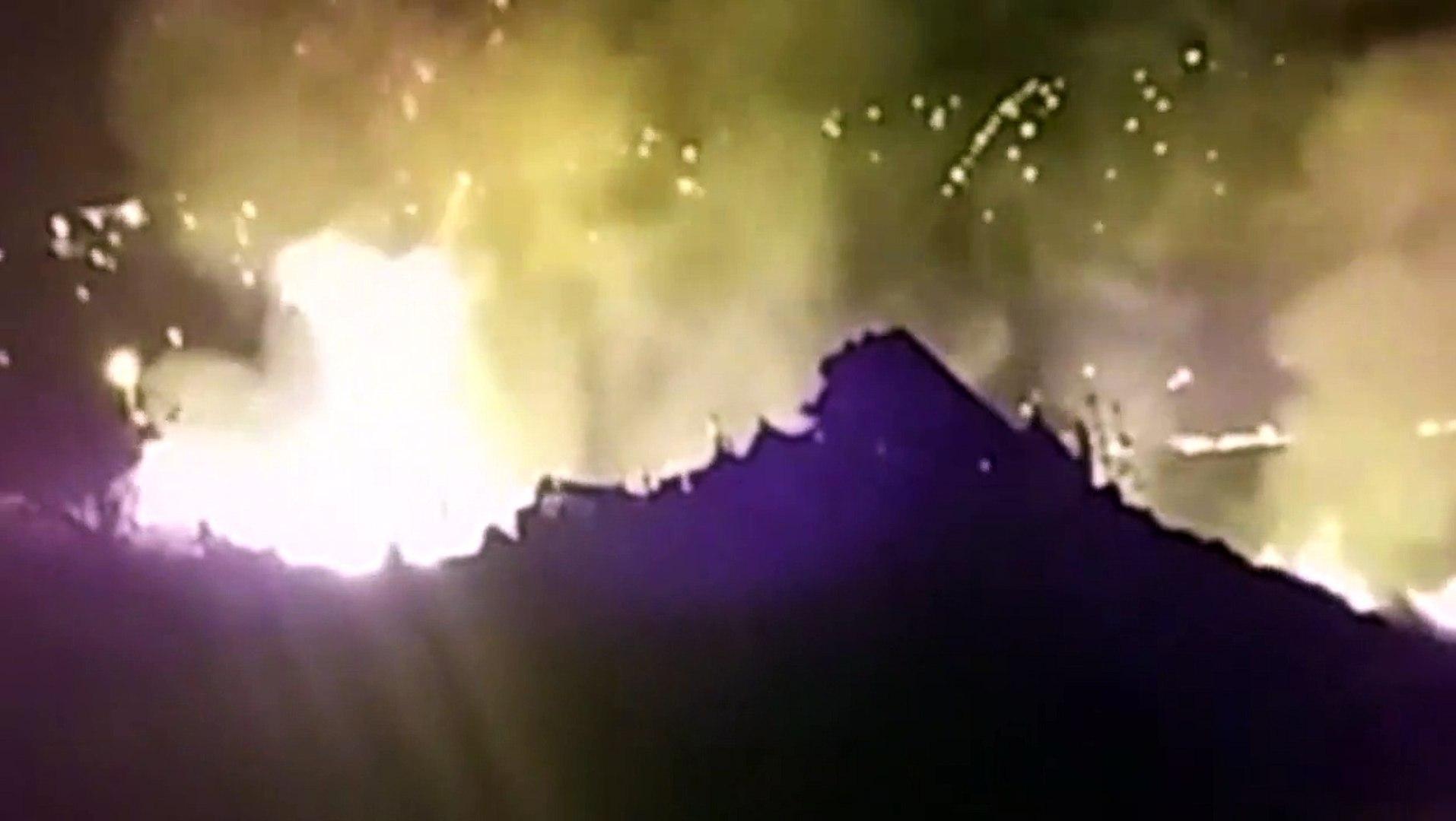 Internautas registram queimadas em vegetação em vários pontos da cidade