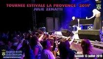 Tournee LA PROVENCE 13Juill2019 à TRETS concert de JULIE ZENATTI