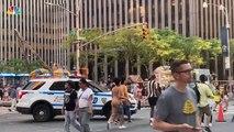 Panne délectricité géante cette nuit au centre de New York: Times Square, les métros, les buildings dans le noir pendant plusieurs heures