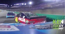 Byron makes massive save after contact with Truex