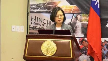 Les deux Chefs d'Etat ont tenu un point de presse conjoint sur l'état des lieux de la coopération entre les deux pays  Haïti et la République taïwanaise