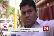 Ica: policía en estado de ebriedad protagoniza accidente vehicular