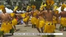 """Le groupe de danse """"Moorea Swing Boy"""" anime le 14 juillet à San Francisco"""