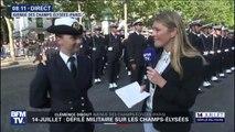 """""""C'est une immense fierté."""" L'aspirant Clara, élève-officier de l'École navale s'apprête à défiler sur les Champs-Élysées"""