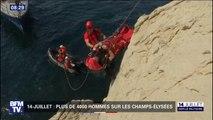 Découvrez comment travaillent les marins-pompiers de Marseille qui vont défiler sur les Champs-Élysées ce 14-Juillet