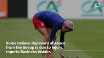 Megan Rapinoe Is Out Of The USA's Starting Lineup