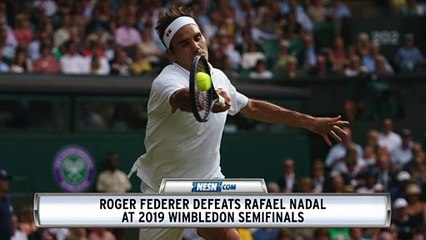 Roger Federer Def. Rafael Nadal, Faces Novak Djokovic In 2019 Wimbledon Final