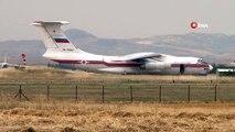 S-400'ler teslimatı için iniş yapan altıncı uçak geri dönüş için havalandı
