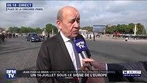 """Jean-Yves Le Drian: """"Oui, l'Europe de la défense existe désormais"""""""