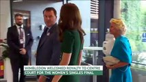 Kate Middleton visits Wimbledon for Women's singles final