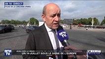 """Jean-Yves Le Drian sur le futur commandement militaire de l'espace: """"C'était une nécessité"""""""