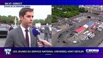 """Gabriel Attal: """"François de Rugy est membre de ce gouvernement et il n'y a pas de sujet sur ce niveau-là"""""""