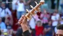 Novak Djokovic Post-Match Celebration, Trophy Lift - Speech  Madrid Open 2019 Final