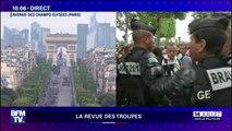 14-Juillet: Les forces de l'ordre interviennent pour tenter de déplacer des groupes de gilets jaunes présents sur les Champs-Élysées