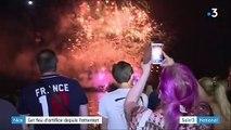 Nice tire son premier feu d'artifice depuis l'attentat de 2016