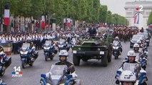 Emmanuel Macron, sifflé durant le défilé du 14-juillet
