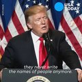 Trump on anonymous news sources: It's bull****