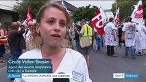 La Rochelle : poursuivie par des grévistes, Agnès Buzyn écourte sa visite des urgences
