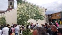 Pierrefitte-sur-Aire : inauguration d'une fresque dans le cadre du festival du Vent des forêts